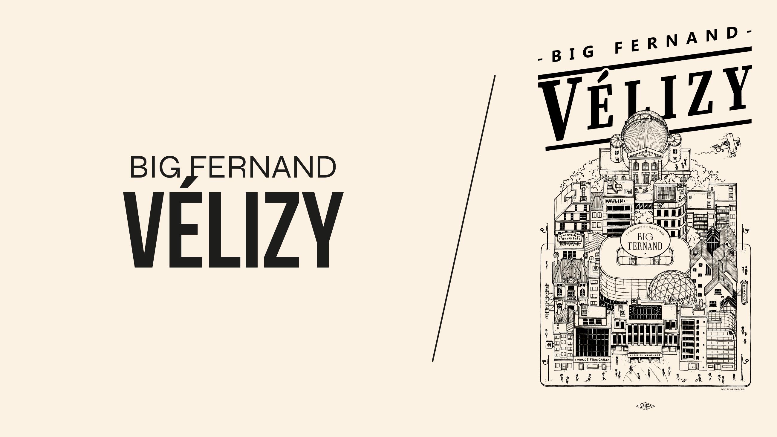 VELIZY 2 : UN BIG FERNAND S'Y INSTALLE